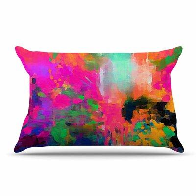 Oriana Cordero Mondrian & Me Squares Pillow Case