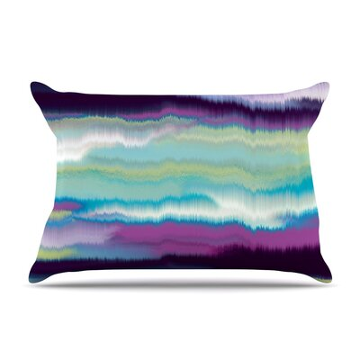 Nina May Artika Pillow Case Color: Blue/Teal