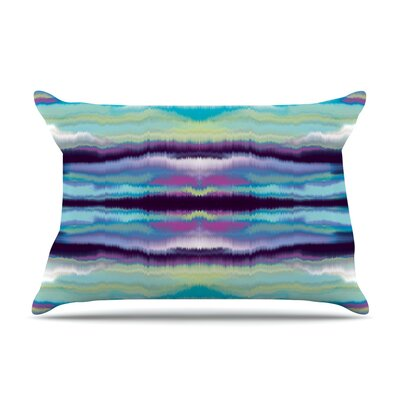 Nina May Sola Color Pillow Case Color: Blue/Teal