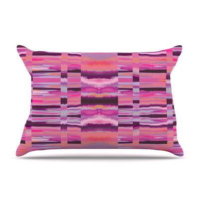 Nina May Samanna Coral Tribal Pillow Case Color: Pink Tribal