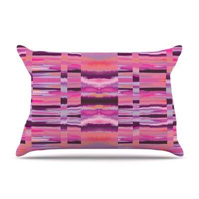 Nina May Samanna Coral Tribal Pillow Case Color: Pink Tribal
