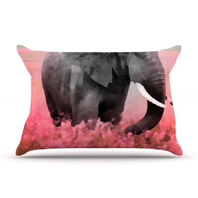 Oriana Cordero Ele-Phant Pillow Case