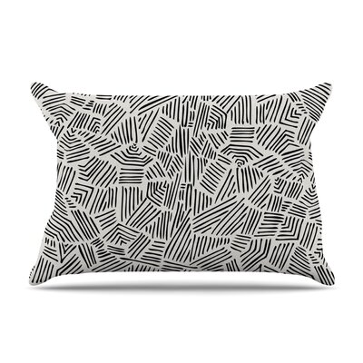Pom Graphic Design Inca Gold Trail Pillow Case Color: Black