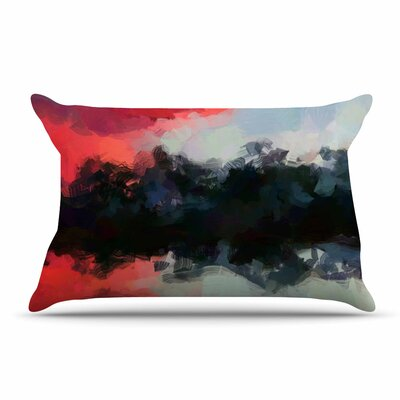Oriana Cordero Days Of Summer Rainbow Abstract Pillow Case