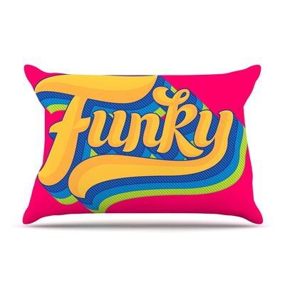 Roberlan Funky Pillow Case