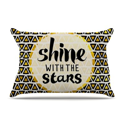 Pom Graphic Design Shine With The Stars Pillow Case
