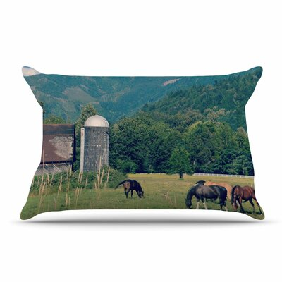Robin Dickinson Country Life Pillow Case