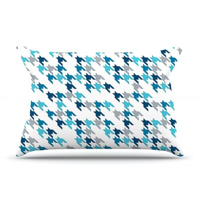 Project M Tooth Pillow Case Color: Blue/Navy