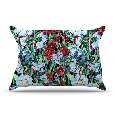 DLKG Design Giardino Garden Flowers Pillow Case