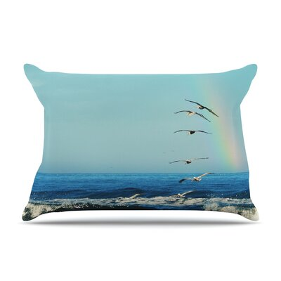 Robin Dickinson ILl Follow Coastal Pillow Case