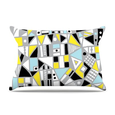 Emine Ortega Fun Geo Too Pillow Case