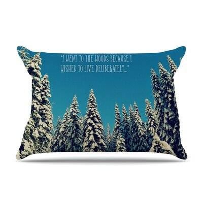 Robin Dickinson I Went To The Woods Pillow Case
