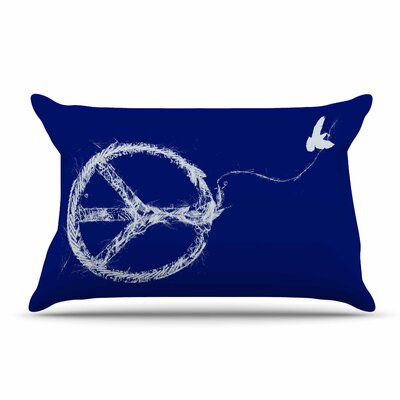 Frederic Levy-Hadida Bird Sewing Peace Pillow Case