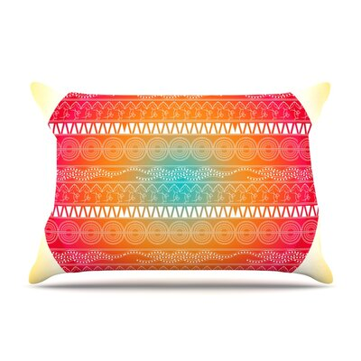 Famenxt Romantic Abstract Pillow Case