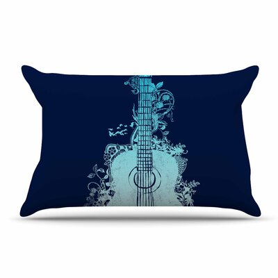 Frederic Levy-Hadida Nature Tune Music Pillow Case