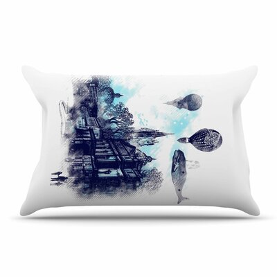 Frederic Levy-Hadida Strange Town City Pillow Case