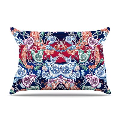 Fernanda Sternieri Barroque Sea Abstract Pillow Case