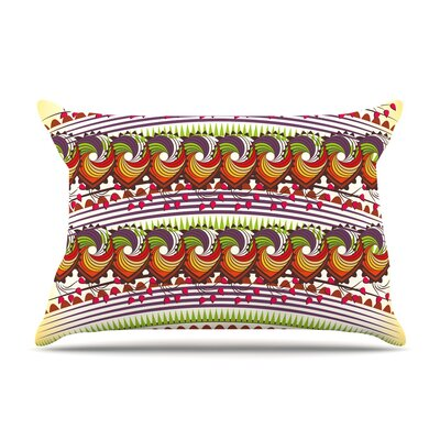 Famenxt Colorful Traditional Digital Pillow Case