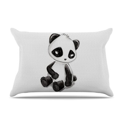 Geordanna Cordero-Fields My Panda Sketch Pillow Case