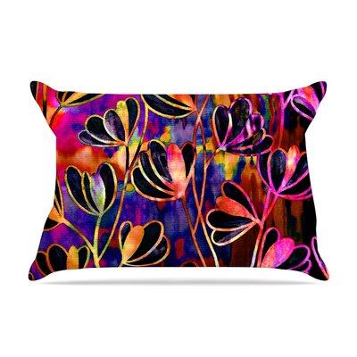 Ebi Emporium Effloresence Pillow Case Color: Pink