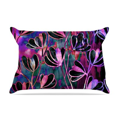 Ebi Emporium Effloresence Pillow Case Color: Pink/Purple