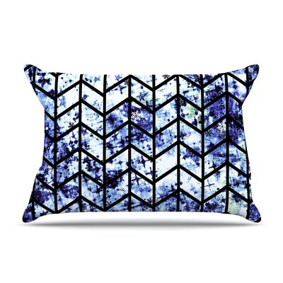 Ebi Emporium Chevron Wonderland Ii Pillow Case Color: Blue