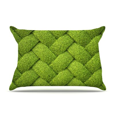Susan Sanders Ivy Basket Weave Pillow Case