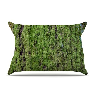 Susan Sanders Emerald Moss Nature Pillow Case