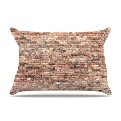 Susan Sanders Rustic Bricks Pillow Case