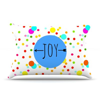 Sreetama Ray Oh Joy Rainbow Pillow Case