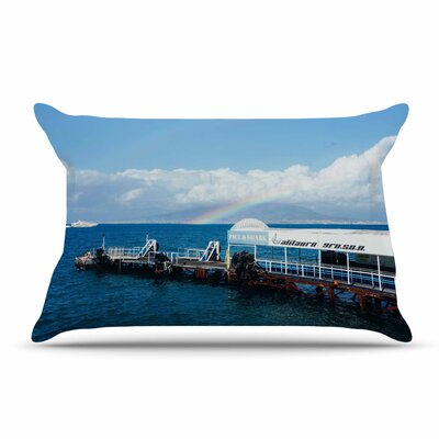 Violet Hudson Pier Pillow Case