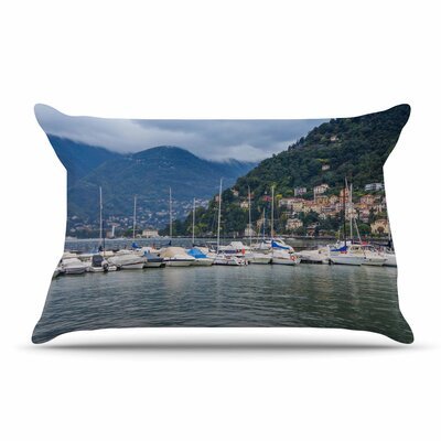 Violet Hudson Italian Harbor Coastal Pillow Case