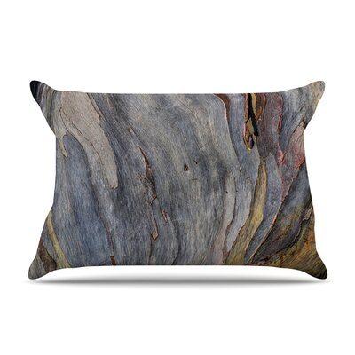 Susan Sanders Milky Wood Pillow Case