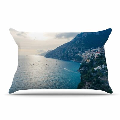 Violet Hudson Amalfi Edge Coastal Pillow Case