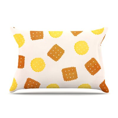 Strawberringo Do You Love Biscuits? Pillow Case