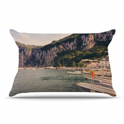 Violet Hudson Boats Of Paradise Pillow Case