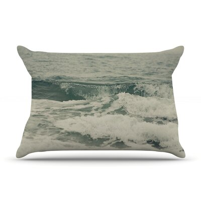 Cristina Mitchell Crashing Waves Ocean Pillow Case