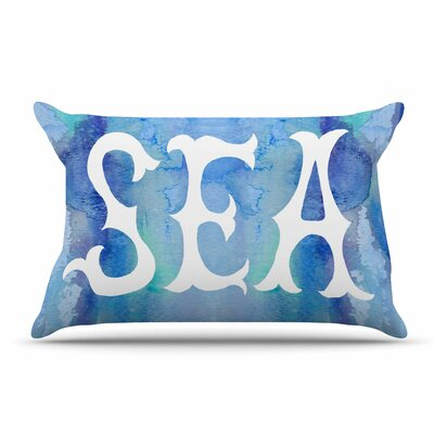 Catherine Holcombe I Love The Sea 2 Pillow Case