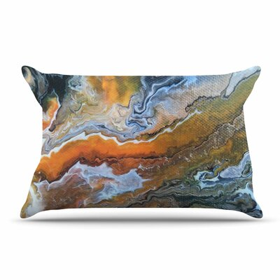 Carol Schiff Geologic Veins Pillow Case