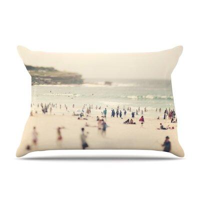 Catherine McDonald Bondi Beach Coastal People Pillow Case