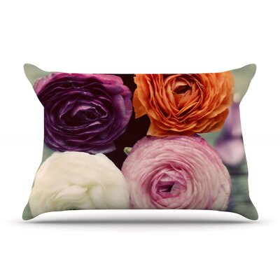 Cristina Mitchell Four Kinds Of Beauty Roses Pillow Case