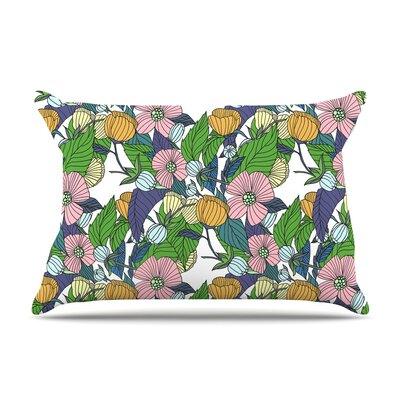 Catherine Holcombe Spring Foliage Floral Pastels Pillow Case