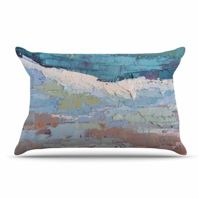 Carol Schiff On The Beach Coral Pillow Case