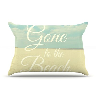 Alison Coxon Gone To The Beach Pillow Case