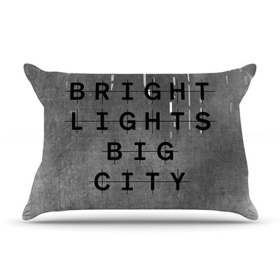Alison Coxon Bright Lights Dark City Pillow Case