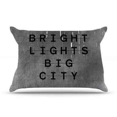 Alison Coxon Bright Lights Dark City Pillow Case