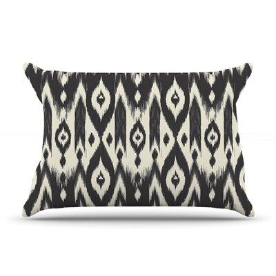 Amanda Lane Cream Tribal Ikat Pillow Case