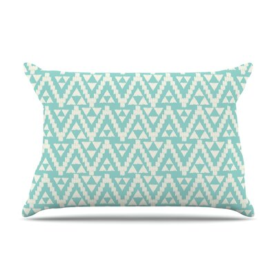 Amanda Lane Geo Tribal Sky Aztec Pillow Case