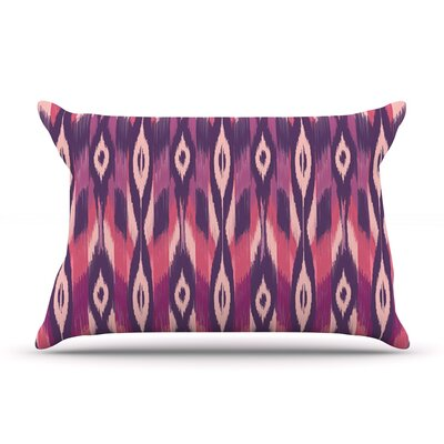 Amanda Lane Purple Ikat Pillow Case