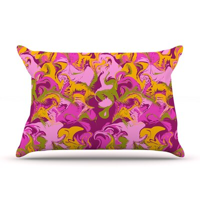 Anneline Sophia Marbleized In Plum Pillow Case